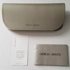 Giorgio Armani Glasses / Sunglasses Case